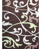 RugStudio presents Nuloom Hand Tufted Vino Brown Hand-Tufted, Good Quality Area Rug