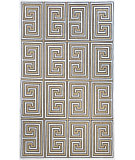 RugStudio presents Nuloom Machine Made Greek Key Austin Tan Machine Woven, Good Quality Area Rug