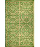 RugStudio presents Nuloom Machine Made Wilma Green Machine Woven, Good Quality Area Rug