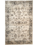 RugStudio presents Nuloom Machine Made Vintage Viscose Shellie Ivory Machine Woven, Better Quality Area Rug