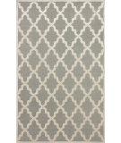 RugStudio presents Nuloom Machine Woven Trellis Deshawn Light Grey Machine Woven, Good Quality Area Rug