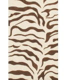 RugStudio presents Nuloom Earth Zebra Brown Hand-Tufted, Better Quality Area Rug