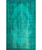 RugStudio presents Nuloom Machine Made Chroma Turquoise Machine Woven, Good Quality Area Rug