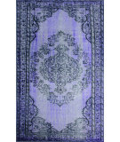 RugStudio presents Nuloom Machine Made Chroma Purple Machine Woven, Good Quality Area Rug