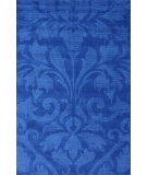 RugStudio presents Nuloom Hand Tufted Modern Damask Blue Hand-Tufted, Good Quality Area Rug