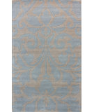 RugStudio presents Nuloom Hand Tufted Dina Light Blue Hand-Tufted, Good Quality Area Rug
