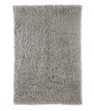 RugStudio presents Nuloom Flokati Standard FFS09 Natural Grey Area Rug