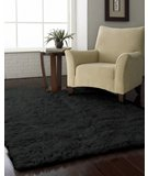 RugStudio presents Nuloom Flokati Standard FFS010 Black Area Rug