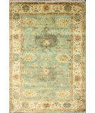 RugStudio presents Nuloom Hand Knotted Donya Peshawar Teal Hand-Knotted, Good Quality Area Rug