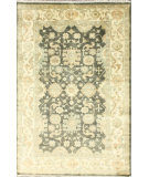 RugStudio presents Nuloom Hand Knotted Naz Peshawar Charcoal Hand-Knotted, Good Quality Area Rug