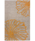 RugStudio presents Nuloom Hand Tufted Petals Yellow Hand-Tufted, Good Quality Area Rug