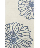 RugStudio presents Nuloom Hand Tufted Petals Ivory Hand-Tufted, Good Quality Area Rug