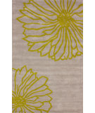 RugStudio presents Nuloom Hand Tufted Petals Green Hand-Tufted, Good Quality Area Rug