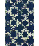 RugStudio presents Nuloom Hand Tufted Carlton Navy Hand-Tufted, Good Quality Area Rug