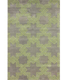 RugStudio presents Nuloom Hand Tufted Carlton Green Hand-Tufted, Good Quality Area Rug