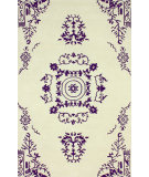 RugStudio presents Nuloom Hand Tufted Madeline Purple Hand-Tufted, Good Quality Area Rug