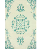 RugStudio presents Nuloom Hand Tufted Madeline Teal Hand-Tufted, Good Quality Area Rug