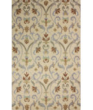 RugStudio presents Nuloom Hand Hooked Chelsea Ivory Hand-Tufted, Good Quality Area Rug