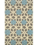 RugStudio presents Nuloom Hand Hooked Jacquelyn Blue Hand-Hooked Area Rug