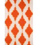 RugStudio presents Nuloom Hand Hooked Eva Orange Hand-Hooked Area Rug