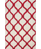 RugStudio presents Nuloom Hand Hooked Shelly Wine Hand-Hooked Area Rug