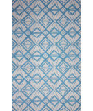 RugStudio presents Nuloom Hand Hooked Rena Light Blue Hand-Hooked Area Rug