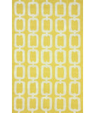 RugStudio presents Nuloom Hand Tufted Ilili Yellow Hand-Tufted, Good Quality Area Rug