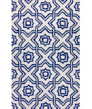 RugStudio presents Nuloom Hand Tufted Louis Blue Hand-Tufted, Good Quality Area Rug