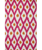 RugStudio presents Nuloom Hand Hooked Claudia Pink Hand-Hooked Area Rug