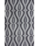 RugStudio presents Nuloom Hand Hooked Luciano Grey Hand-Hooked Area Rug