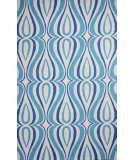 RugStudio presents Nuloom Hand Hooked Luciano Light Blue Hand-Hooked Area Rug
