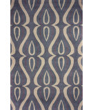 RugStudio presents Nuloom Hand Hooked Luciano Slate Hand-Hooked Area Rug