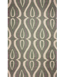 RugStudio presents Nuloom Hand Hooked Luciano Green Hand-Hooked Area Rug