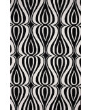 RugStudio presents Nuloom Hand Hooked Luciano Black Hand-Hooked Area Rug