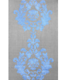 RugStudio presents Nuloom Hand Hooked Josephine Cotton Blue Hand-Hooked Area Rug