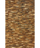 RugStudio presents Nuloom Hand Made Cowhide Patches Brown Area Rug