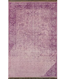 RugStudio presents Nuloom Hand Knotted Bristol Purple Hand-Knotted, Good Quality Area Rug