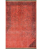 RugStudio presents Nuloom Hand Knotted Hand Knotted Bristol Red Hand-Knotted, Good Quality Area Rug