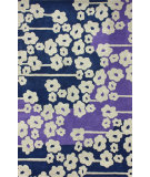 RugStudio presents Nuloom Hand Tufted Lush Blue Hand-Tufted, Good Quality Area Rug