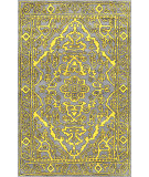 RugStudio presents Nuloom Hand Tufted Newport Yellow Hand-Tufted, Good Quality Area Rug
