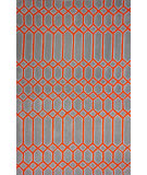 RugStudio presents Nuloom Hand Tufted Wendy Orange Hand-Tufted, Good Quality Area Rug
