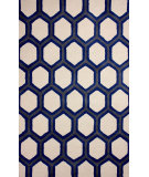 RugStudio presents Nuloom Hand Tufted Tianna Blue Hand-Tufted, Good Quality Area Rug