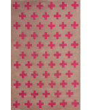 RugStudio presents Nuloom Hand Tufted Sergio Fuschia Hand-Tufted, Good Quality Area Rug