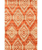 RugStudio presents Nuloom Hand Tufted Ikat Louise Rust Hand-Tufted, Good Quality Area Rug