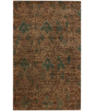 RugStudio presents Nuloom Textures Hemp Ikat Brown Hand-Knotted, Good Quality Area Rug