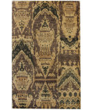 RugStudio presents Nuloom Textures Hemp Ikat Camel Hand-Knotted, Good Quality Area Rug