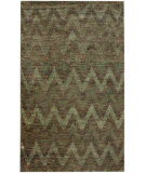 RugStudio presents Nuloom Textures Hemp Ikat Blue Hand-Knotted, Good Quality Area Rug