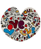 RugStudio presents Nuloom Hand Tufted Love Multi Hand-Tufted, Good Quality Area Rug