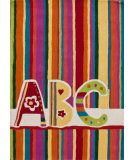 RugStudio presents Nuloom Hand Tufted Funky Abc Multi Hand-Tufted, Good Quality Area Rug