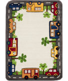 RugStudio presents Nuloom Hand Tufted Tiny Town Ivory Hand-Tufted, Good Quality Area Rug
